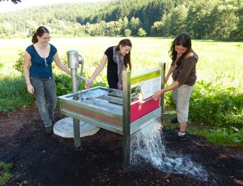 Lehrpfad Frammerbsach wässerwiese Feuchtwiesenerlebnispfad wird am 12. April eröffnet