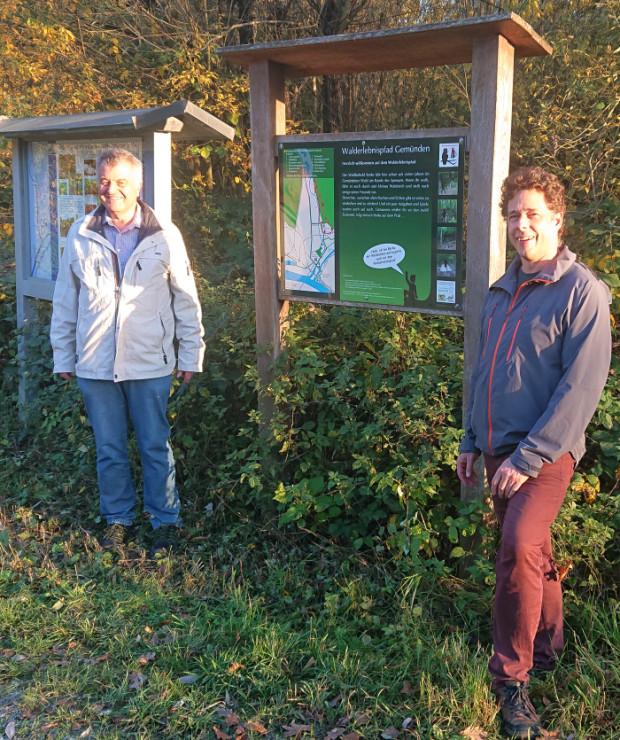 Markus Latt und Oliver Kaiser 620x740 Engagierter Ruhestand beim Naturpark