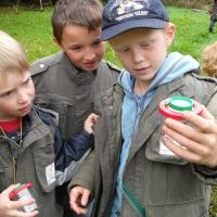 Naturpark-Entdeckerwesen im Einsatz