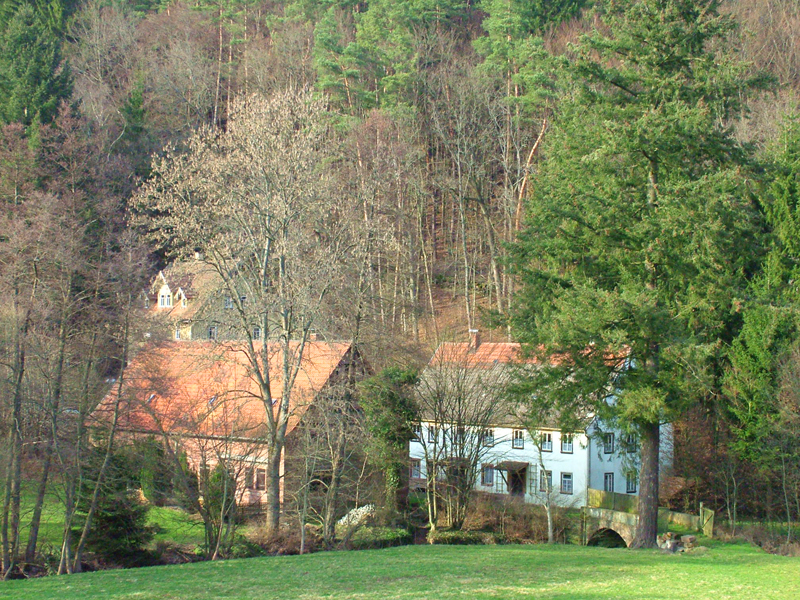 Neue Wachenmühle E. Dürr Sagen und Geschichte(n) der Mühlen im Wachengrund