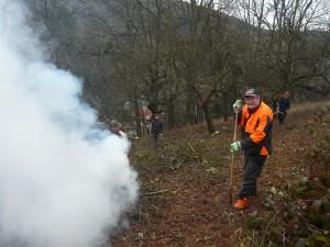 P1280244 300x225 Heimbuchenthal – Freiwillige Helfer starten Grünlandprojekt