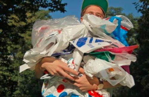 Plastiktüten Deutsche Umwelthilfe eV Start der Initiative Blüten statt Tüten