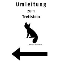 Schild Wegesperrung Trettstein 200x200