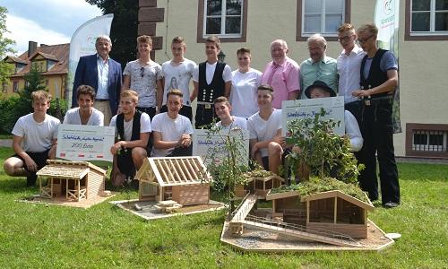 Siegermodelle Schutzhüttenwettbewerb Ideenwettbewerb Schutzhütten