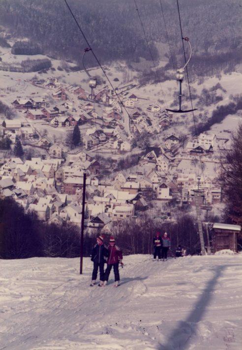SkiLift Frammersbach GAnderlohr Wintersport im Spessart