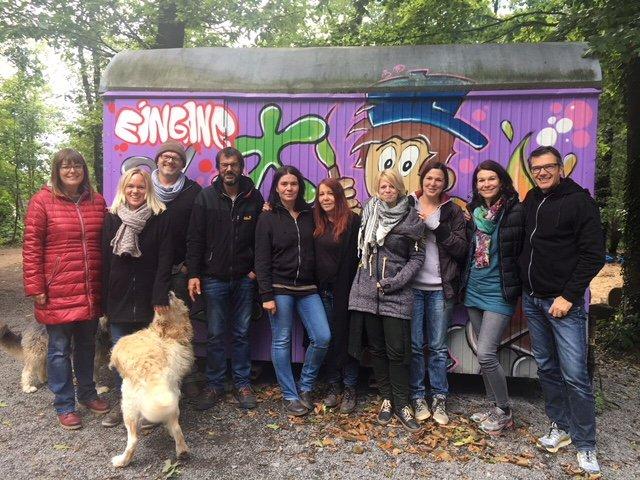 Team ABenteuerfarm Sonja Englert   Knochengärtnerin mit Leib und Seele