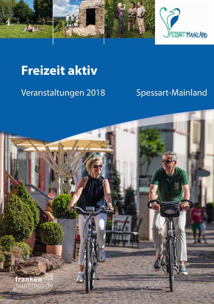 Titel Freizeit aktiv 2018 Spessart Mainland Neuerscheinung Freizeit Aktiv Führer und Urlaubsmagazin