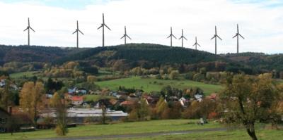 Visualisierung Windpark Rossbach Erörterungstermin zum geplanten Windpark am Roßkopf