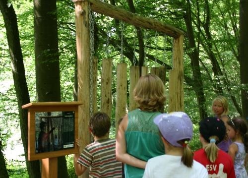 Walderlebnispfad Gemünden Naturpark Spessart 1 Führung auf dem Walderlebnispfad Gemünden