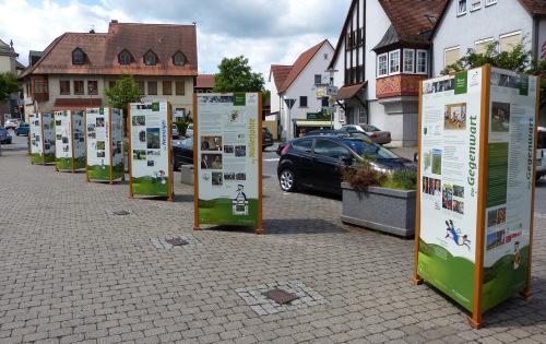 Wanderausstellung in Mömbris Ausstellung 50 Jahre Naturpark Spessart e.V.