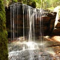 Wasserfall Trettstein O.Kaiser