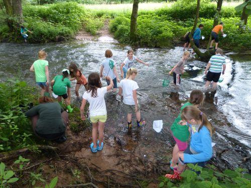 Wassertag 2013 Projekttage an der Naturpark Schule
