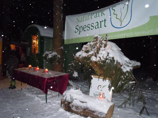 Weihnachtsmarkt Bayrische Schanz 2012 Naturpark auf regionalen Weihnachtsmärkten