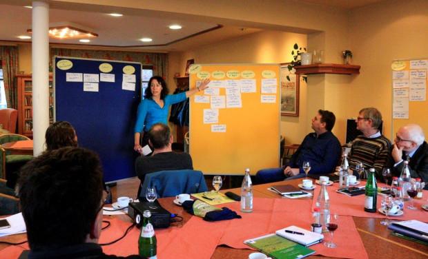 Workshop Natura 2000 5 620x376 Workshop zu Öffentlichkeitsarbeiten und Natura 2000