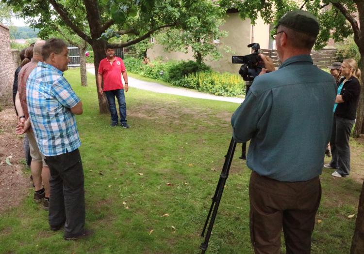 ZNL Kurs 2016 Rothenfels 10 Ausbildung von Naturparkführer hat begonnen