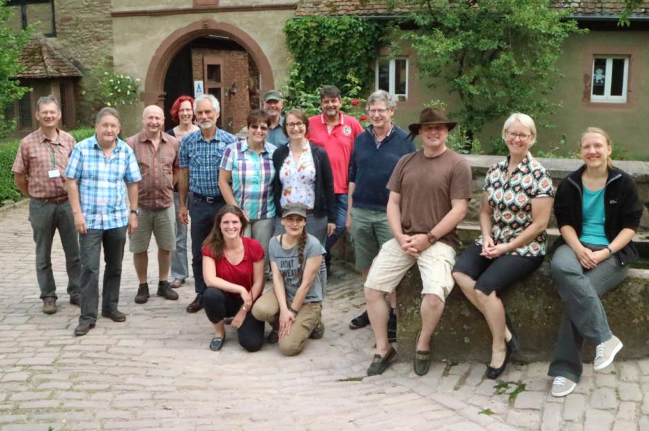 ZNL Kurs 2016 Rothenfels 11 940x625 Ausbildung von Naturparkführer hat begonnen