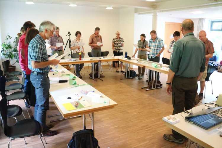 ZNL Kurs 2016 Rothenfels 2 Ausbildung von Naturparkführer hat begonnen