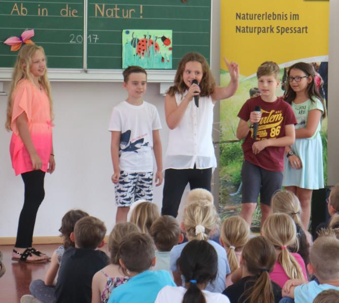 Zertifizierung2 Partensteiner Grundschule als Naturparkschule zertifiziert