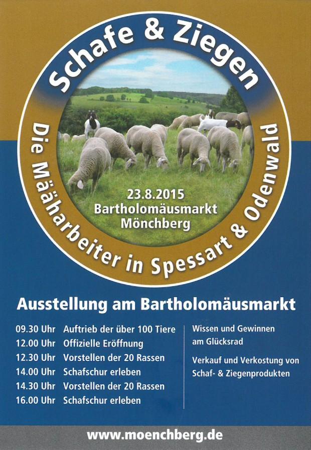 flyerSchafundZiegenausstellung20151 620x895 Määharbeiter präsentieren sich am 23.8 in Mönchberg
