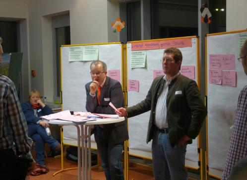 leader arbeitsgruppe in paretenstein Projektideen in der LAG Spessart