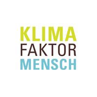 """logo KlimaFaktorMensch Ausstellung """"Klima Faktor Mensch"""" in Alzenau"""
