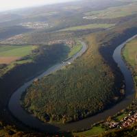"""Mainschleife """"Himmelreich"""" bei Kreuzwertheim"""