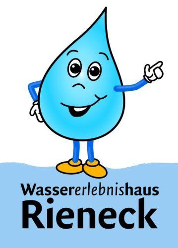 maskottchen weh NP Schautafeln und Binokulare für das Wassererlebnishaus in Rieneck