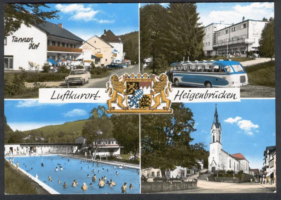 postkarte Heigenbrücken 940x670 Familie Samer vom Hotel Hochspessart in Heigenbrücken