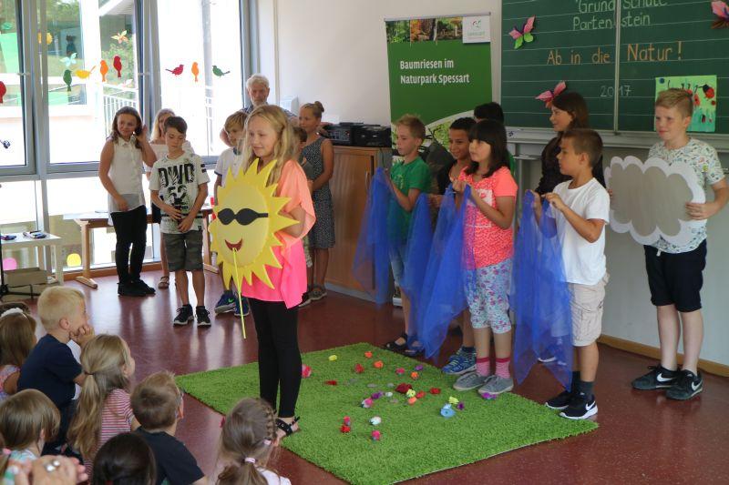 zertifikat2 Partensteiner Grundschule als Naturparkschule zertifiziert