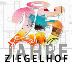 250x220 25 ziegelhof jubi logo klein Ausstellung Metamorphosen   Wandlungen. 25 Künstler zum 25.