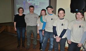 36 Juniorranger 300x180 Menzer Naturforscher als Juniorranger ausgezeichnet