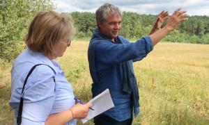 Bauer Frank Rumpe500x300 300x180 Seltene Ackerwildkraut Arten werden im Naturpark wiederbelebt!