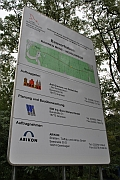 Bauschild Stechlinsee Radweg wird saniert