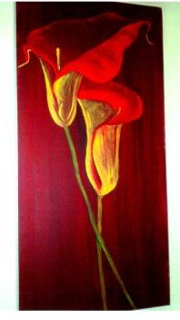 Blume Ausstellungseröffnung am 10. Januar in Menz