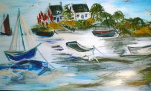 Christel Stüwe 15 300x180 Ausstellung Spaß am Malen