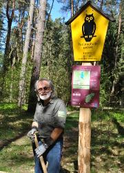 Einsatz Egbert Witzlau Egbert Witzlau geht als zertifizierter Natur  und Landschaftsführer an den Start