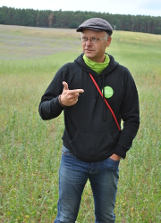 Feldbesichtigung 36 Großes Interesse an Feldbesichtigung in Binenwalde