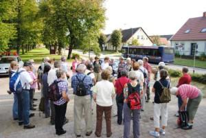 Fontanewanderung 300x201 Geheimnisse einer Landschaft   Wanderung im Naturschutzgebiet Stechlin (5)