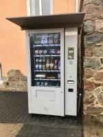 Foto Lebensmittelautomat Laden 2.0 Neuglobsow: Regio Mat versorgt Bewohner und Urlauber mit Lebensmitteln