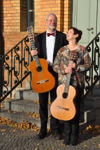Gitarren DuoZernikow August1 Konzert in der Zernikower Kirche