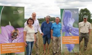 Gruppe500x300 300x180 Seltene Ackerwildkraut Arten werden im Naturpark wiederbelebt!