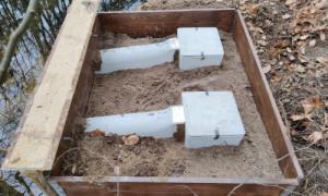 Künstliche Brutröhren 300x180 NABU Neuruppin baut Nisthilfen für Eisvögel