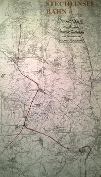 Karte Stechlinseebahn 011 Ausstellung 90 Jahre Stechlinseebahn