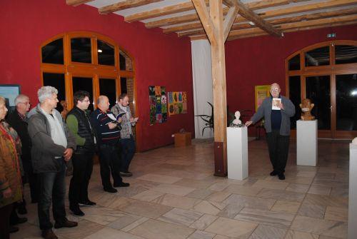 Laudatio Licht und Schatten   Malerei und Skulpturen von Gudrun und Kuno Lomas