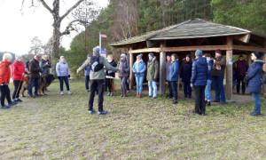 Neujahrs Tour   geführte Nordic Walking Tour