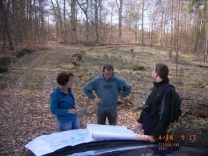 Vor Ort-Abstimmung zum Fachbeitrag Forst