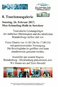 Sewekow Herzlich willkommen zur 8. Tourismusgalerie in Sewekow