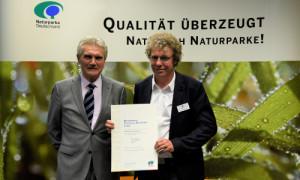 Stechli Ruppiner Land b 300x180 Urkunde zur Auszeichnung als Qualitätsnaturpark in Eisenach bekommen