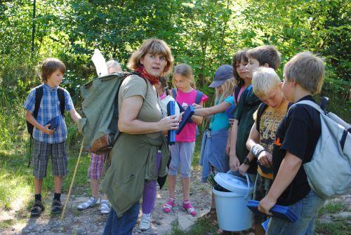 Umweltbildung Kinder Wildnis Camp in der Ruppiner Schweiz