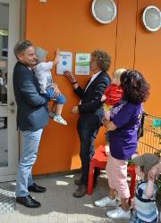 Zertifizierung Kita 90 Henriettes Schneckenhäuschen wird Naturpark Kita